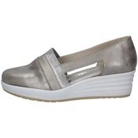 Schuhe Damen Slip on Florance 14628-2 TAUPE