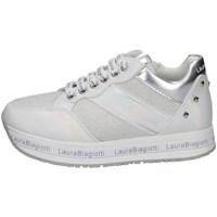 Schuhe Mädchen Sneaker Low Laura Biagiotti 7080 WEISS