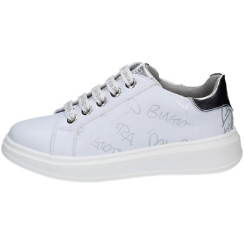 Schuhe Mädchen Sneaker Low Laura Biagiotti 7061 WEISS