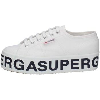 Schuhe Damen Sneaker Low Superga S7117DW-901 WEISS