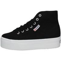 Schuhe Damen Sneaker Low Superga S3111MW-F83 SCHWARZ