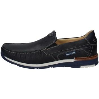 Schuhe Herren Slipper Valleverde 13823 MARINE