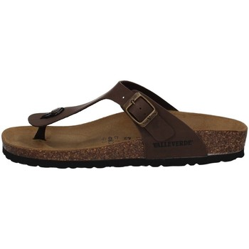 Schuhe Herren Zehensandalen Valleverde G59930 BRAUN