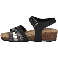 Schuhe Damen Sandalen / Sandaletten Valleverde G5388 SCHWARZ