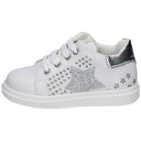 Schuhe Mädchen Sneaker Low Asso AG-10382 WEISS