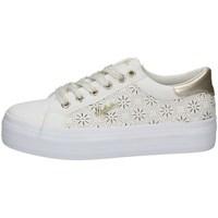 Schuhe Damen Sneaker Low Australian AU050 WEISS