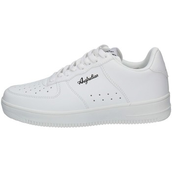 Schuhe Damen Sneaker Low Australian AU035 WEISS