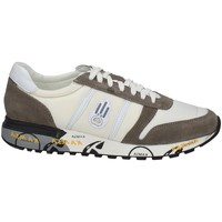Schuhe Herren Sneaker Low Kamsa PRINT WEISS UND GRAU