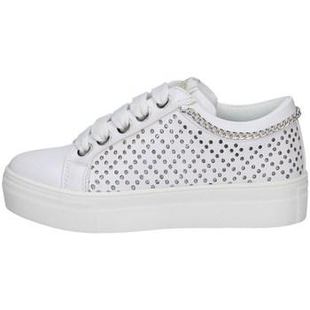 Schuhe Mädchen Sneaker Low Asso AG-10352 WEISS