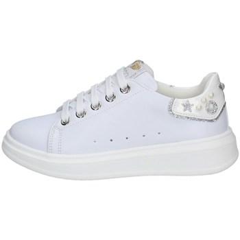 Schuhe Mädchen Sneaker Low Asso AG-10301 WEISS