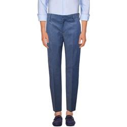 Kleidung Herren Chinohosen Entre Amis  Blau