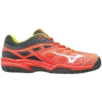 Schuhe Damen Fitness / Training Mizuno Break Shot EX CC Rot, Grau