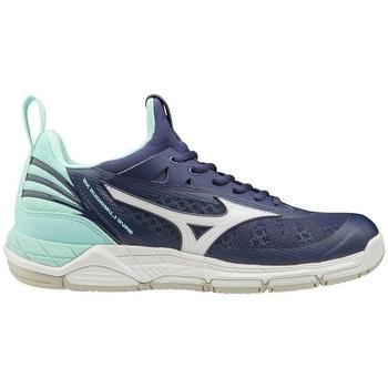 Schuhe Damen Fitness / Training Mizuno Wave Luminous W Dunkelblau, Türkisfarbig