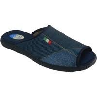 Schuhe Herren Hausschuhe Calzamur Offene Zehen- und Fersenpantoffeln für H Blau