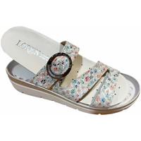 Schuhe Damen Pantoffel Calzaturificio Loren LOR5536multi grigio