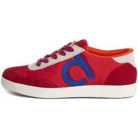 Schuhe Damen Sneaker Low Duuo Nice 037 Rot