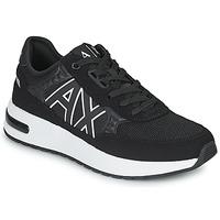 Schuhe Herren Sneaker Low Armani Exchange MALIKA Schwarz / Weiss