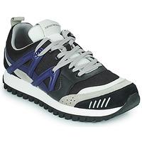 Schuhe Herren Sneaker Low Emporio Armani BOLINNA Schwarz / Weiss / Blau