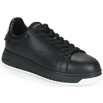 Schuhe Herren Sneaker Low Emporio Armani ANITY Schwarz