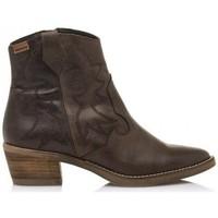 Schuhe Damen Low Boots MTNG Cleo 58963 Braun