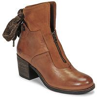 Schuhe Damen Low Boots Casta PONTA Cognac