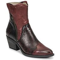 Schuhe Damen Low Boots Casta DOST Bordeaux