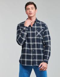 Kleidung Herren Langärmelige Hemden Rip Curl CHECKED OUT L/S FLANNEL Blau