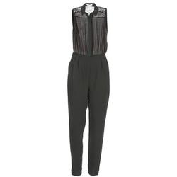 Kleidung Damen Overalls / Latzhosen BCBGeneration EGLANTINE Schwarz