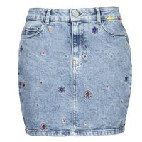 Kleidung Damen Röcke Desigual LESLIE Blau