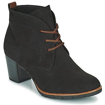 Schuhe Damen Low Boots Marco Tozzi PELINDA Schwarz