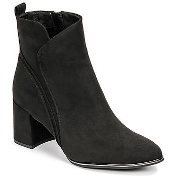 Schuhe Damen Low Boots Marco Tozzi ARRANGA Schwarz