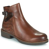 Schuhe Damen Boots Marco Tozzi DEMINA Braun