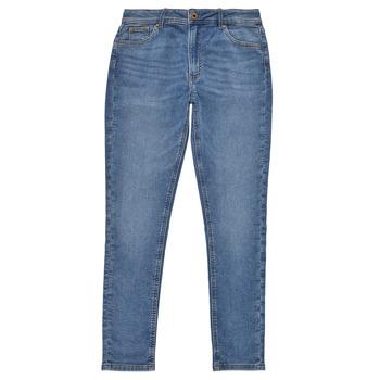 Kleidung Mädchen Röhrenjeans Pepe jeans PIXLETTE HIGH Blau