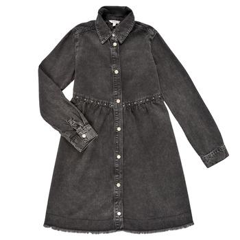 Kleidung Mädchen Kurze Kleider Pepe jeans FLORIDA DRESS Schwarz