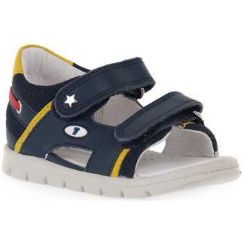 Schuhe Mädchen Sandalen / Sandaletten Naturino FALCOTTO 0C02 NEW SAILING Blu