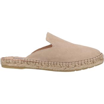 Schuhe Damen Pantoffel Steven New York Pantoletten Beige