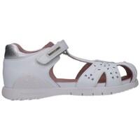 Schuhe Mädchen Sandalen / Sandaletten Biomecanics 202165 Niña Blanco blanc