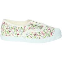 Schuhe Mädchen Tennisschuhe Cienta 70999 Weiss