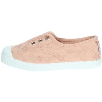 Schuhe Mädchen Tennisschuhe Cienta 70998 Puderrosa