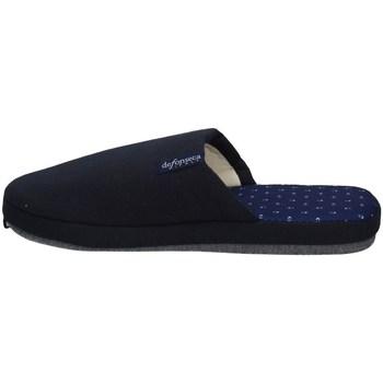Schuhe Herren Hausschuhe De Fonseca ROMA TOP E M711 NACHTBLAU