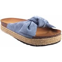 Schuhe Mädchen Pantoffel Bubble Bobble BOBBLE a3296 Cowboy Blau