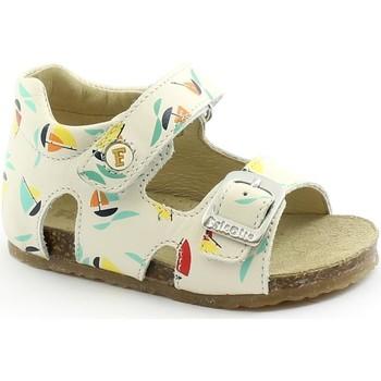 Schuhe Kinder Sandalen / Sandaletten Naturino FAL-E21-0737-MI Bianco