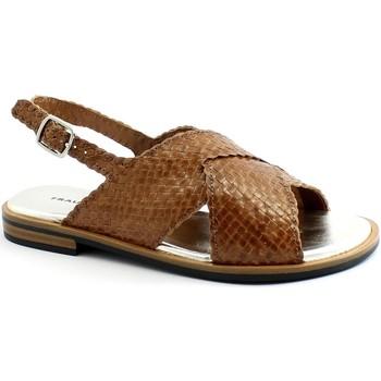 Schuhe Damen Sandalen / Sandaletten Frau FRA-E21-8677-CU Marrone
