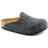 Schuhe Kinder Hausschuhe Birkenstock BIR-RRR-1011736-GR Grigio