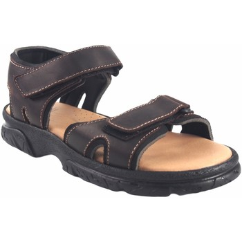 Schuhe Herren Sandalen / Sandaletten Bienve Sandale  458 braun Braun