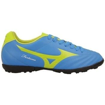 Schuhe Herren Fußballschuhe Mizuno Fortuna 4 AS Blau, Seladongrün