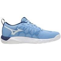 Schuhe Damen Sneaker Low Mizuno Supersonic 2 Hellblau