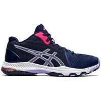 Schuhe Damen Sneaker Low Asics Netburner Ballistic FF MT 2 Schwarz, Blau