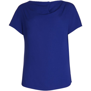 Kleidung Damen Tops / Blusen Lisca Kurzärmeliges Oberteil Nice Blau
