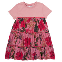 Kleidung Mädchen Kurze Kleider Desigual ZAFIRO Rose